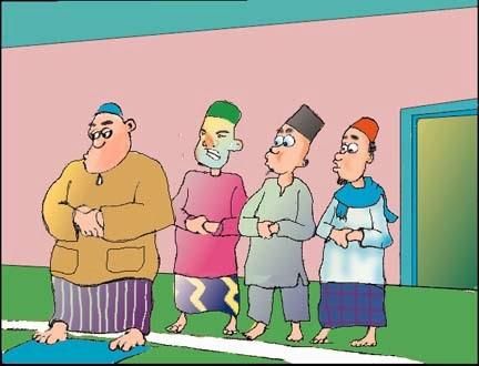 sembahyang-di-belakang-imam